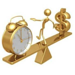 time-money-see-saw